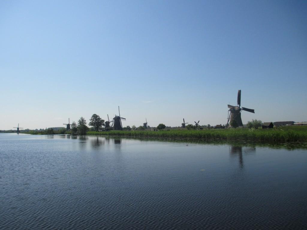Europe 2013 - Netherland's Windmills